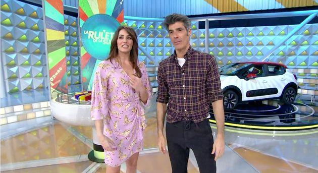 Laura Moure y Jorge Fernández, en 'La ruleta de la