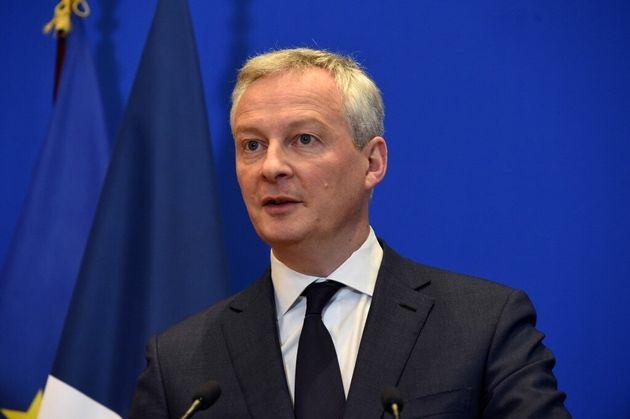 Le ministre de l'Economie Bruno Le Maire le 9 mars à