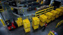 Amazon-Beschäftigte Planen Weg zum Start Nach Staten Island Warehouse-Berichte COVID-19 Fall