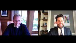 John Krasinski's 'Good News' Show With Steve Carell Is Just What We