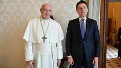 Papa Francesco ha incontrato Conte in