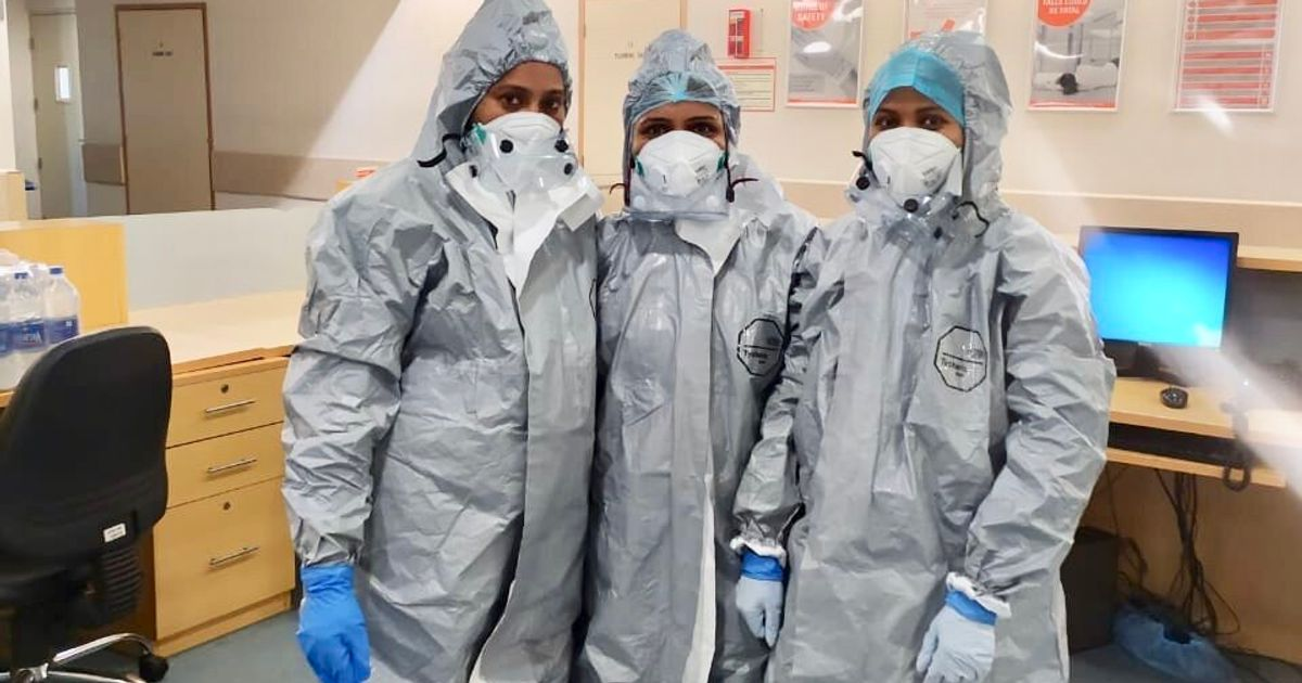 Meet The Indian Nurses Risking Their Lives At The Coronavirus Frontline