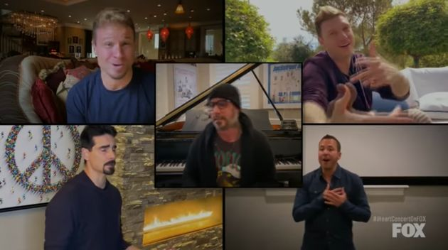 The Backstreet Boys Performing I Want It That Way While All In Isolation Is Weirdly Emotional