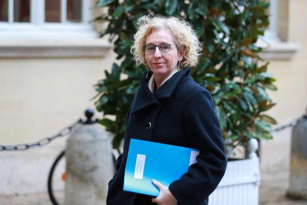 Muriel Pénicaud, ici arrivant à l'Élysée à Paris le 26 février