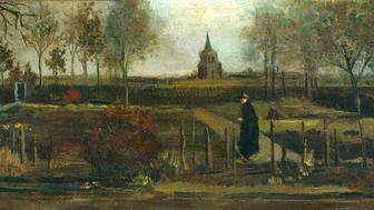 """The Singer Laren museum east of Amsterdam says van Gogh's """"Spring Garden"""" was taken in the early hours of Monday."""