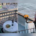 La vede ballare sul tetto e rimane affascinato: storia di un amore nato in