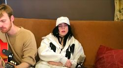 Billie Eilish's Chill 'Bad Guy' On The Sofa Is 'Effortless'