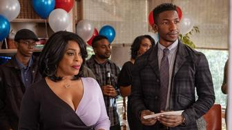 """Niecy Nash and Mamoudou Athie in """"Uncorked"""""""