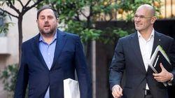 Junqueras y Romeva piden al Constitucional salir de prisión por el