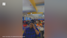 Video Shows Amazon Workers Packed Into Cafeteria Less Than 2 Weeks Ago