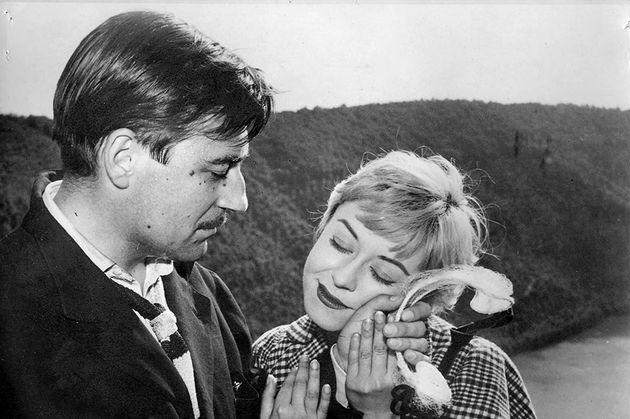 Cena de um dos grandes clássicos de Federico Fellini,