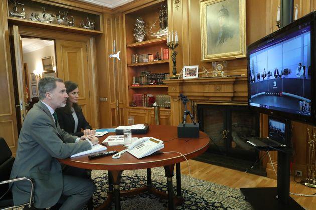 Letizia y Felipe VI, en el