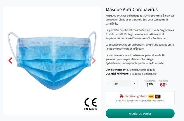 Coronavirus: comment Dieudonné fait la promotion de la vente de masques (alors que la vente est