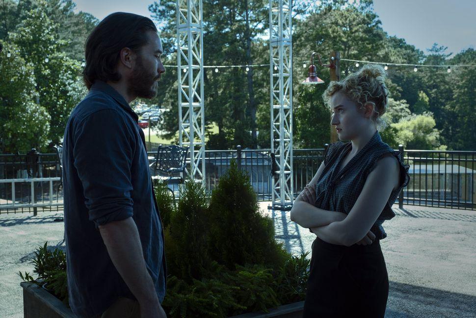 "Tom Pelphrey and Julia Garner in ""Ozark"" Season 3."