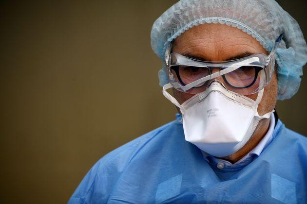 Un médecin à Paris le 27 mars