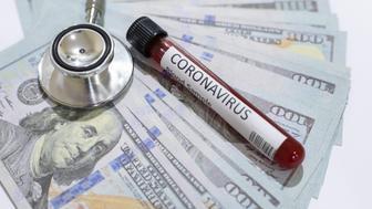 Health insurance caocept, Life insurance,Coronavirus,