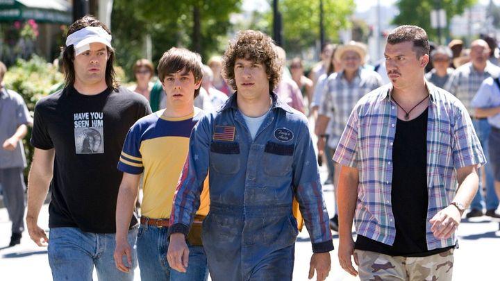 """Bill Hader, Jorma Taccone, Andy Samberg and Danny McBride in """"Hot Rod."""""""