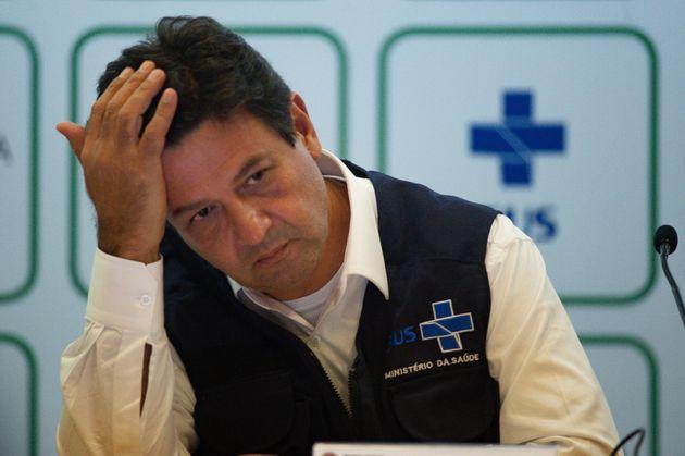 Protagonismo do ministro da Saúde, Henrique Mandetta, tem incomodado o presidente Jair