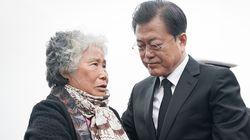 문대통령 막아섰던 천안함 유족이 당시 상황에 대해