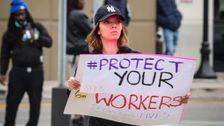 Amazon-Arbeiter Gefeuert, Nachdem Inszenierung Ausstände Über Unternehmen der Verarbeitung Von Coronavirus-Gefahr
