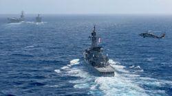 海上自衛隊の護衛艦「しまかぜ」、屋久島沖で中国漁船と衝突
