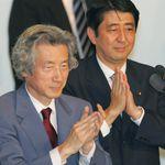고이즈미 전 총리가 아베 총리의 사임을 요구한
