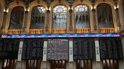 La Bolsa española mantiene las ganancias del 1,87% tras los datos positivos en