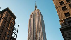 Empire State Building's Eerie Tribute To First Responders Spooks New