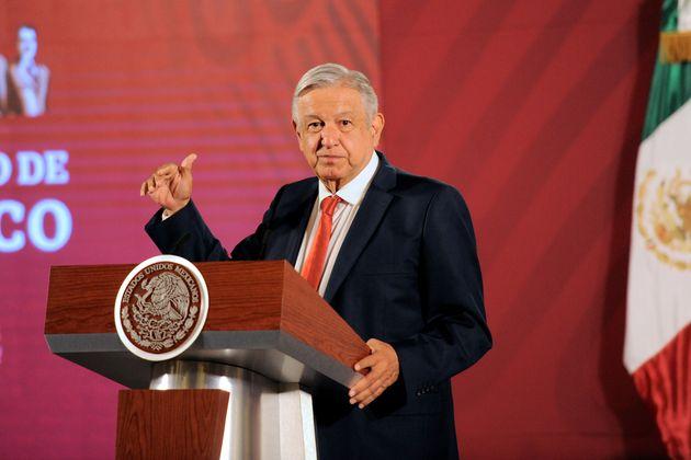 Andrés Manuel López Obrador, presidente de
