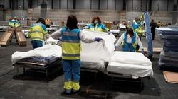 España vuelve a alcanzar su máximo diario: 849 fallecimientos por COVID-19 en las últimas 24