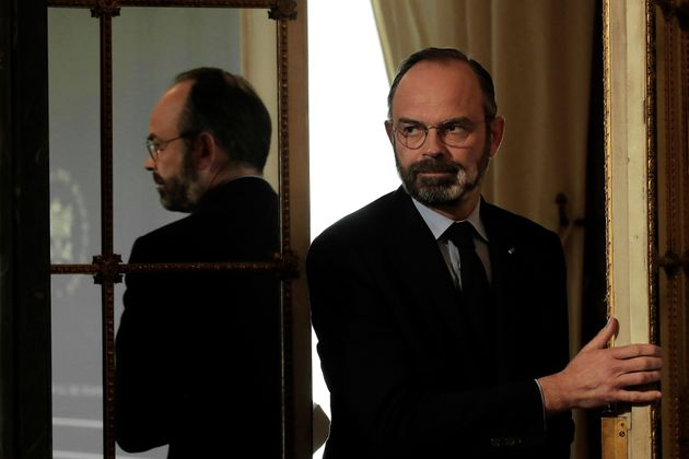 Édouard Philippe le 27 mars à Matignon