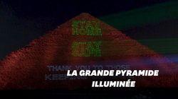 La Grande pyramide de Guizeh a un message pour l'Égypte et le reste du