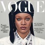 Ce foulard que porte Rihanna en couverture de «Vogue» est tout sauf