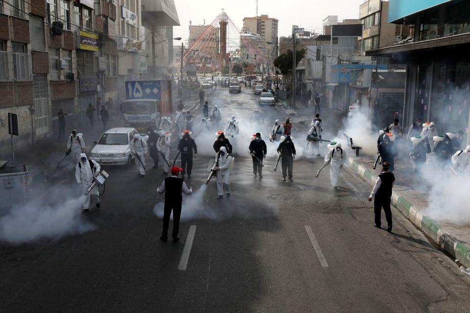 Κορονοϊός: 9 δυστοπικές φωτογραφίες που θα ήταν αδιανόητες ένα μήνα