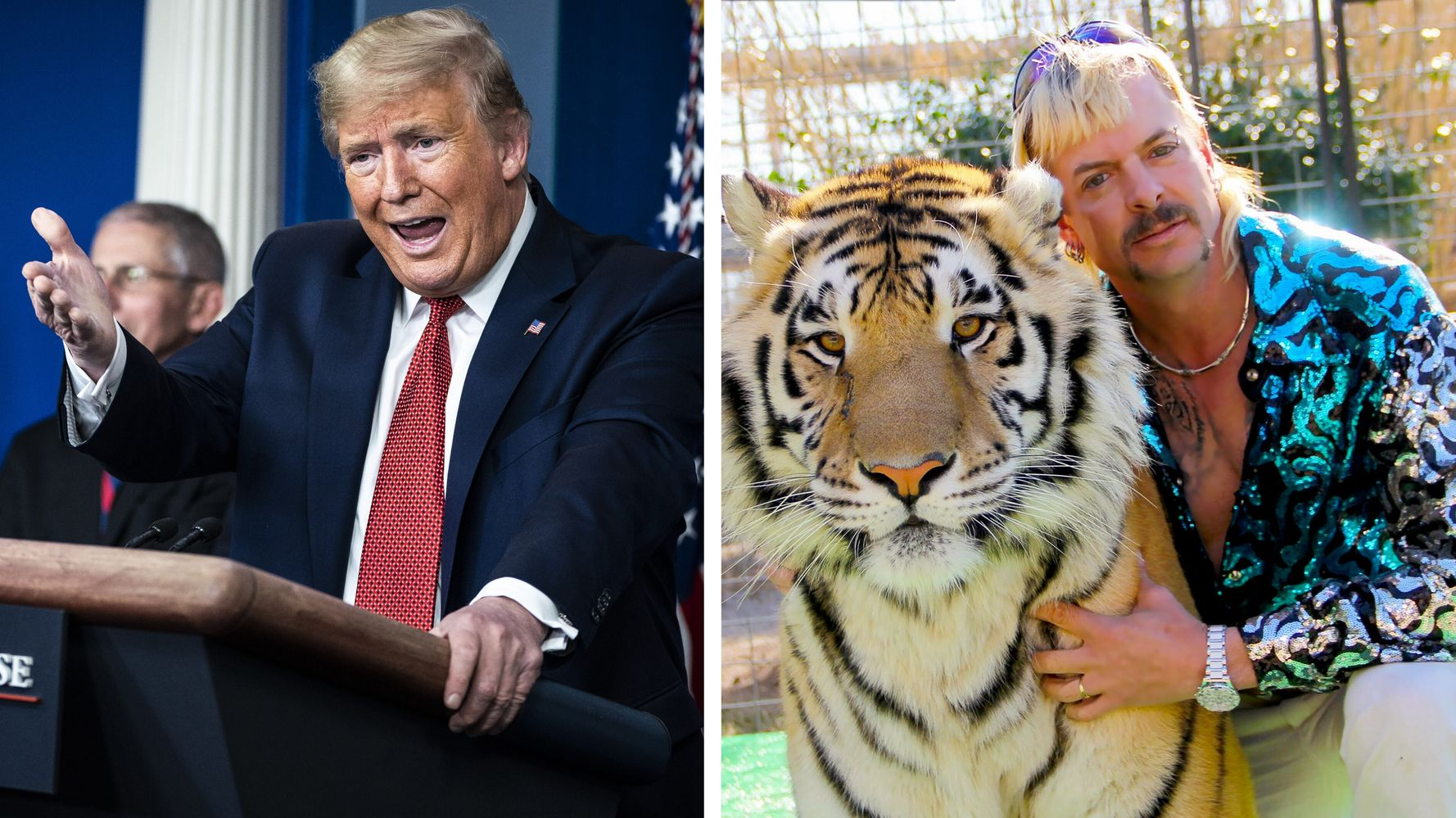 Trevor Noah Nails Why Trump Is Exactly Like 'Tiger King' Joe Exotic