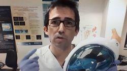 Un médico desvela cómo se les ocurrió adaptar las gafas de Decathlon como respiradores: