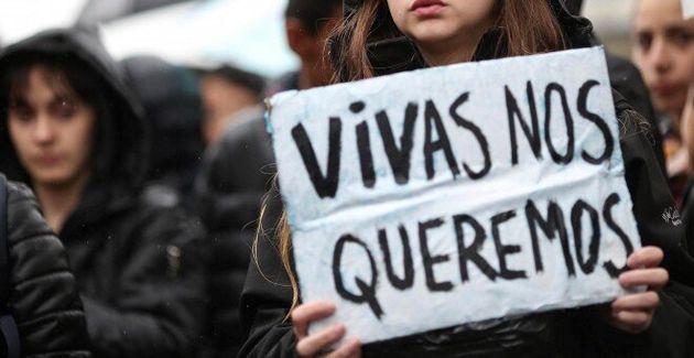 Manifestación contra la violencia