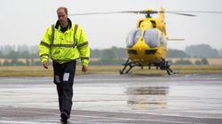 William vuole pilotare di nuovo l'elisoccorso per aiutare durante la