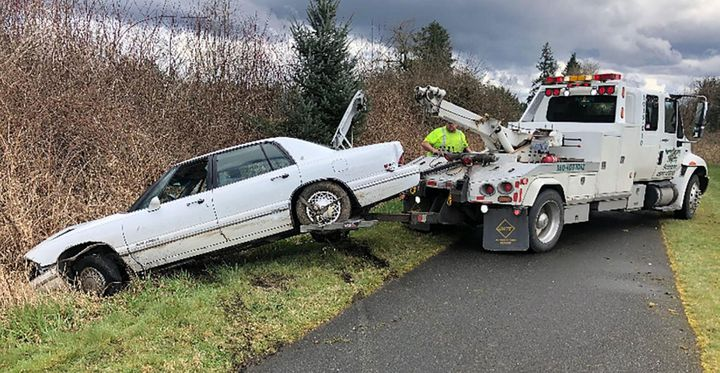 A Washington man arrested Sunday after a high-speed chase on Interstate 5 claimed he was teaching his dog to drive, authoriti
