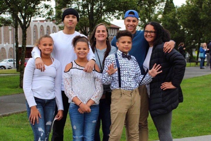 The Ross-Rutter family.