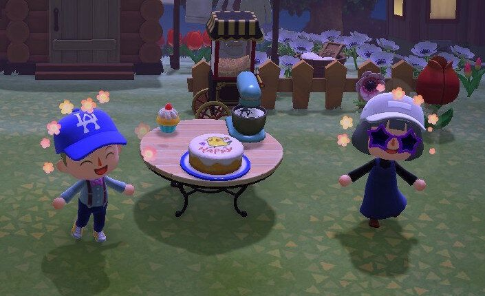 "Marta and I celebrate her birthday in ""Animal Crossing: New Horizons"" in lieu of an in-person party."