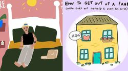 These Adorable Work From Home Artworks Will Motivate You To Slay The Day - Even If It Is In Your