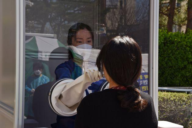 부산 남구보건소가 도입,설치한 '양방향