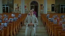 독일의 한 성당이 코로나19 사태에서 미사를 진행하는