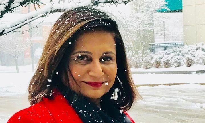 Indian-origin virologist Gita Ramjee in a photo from her Facebook profile.