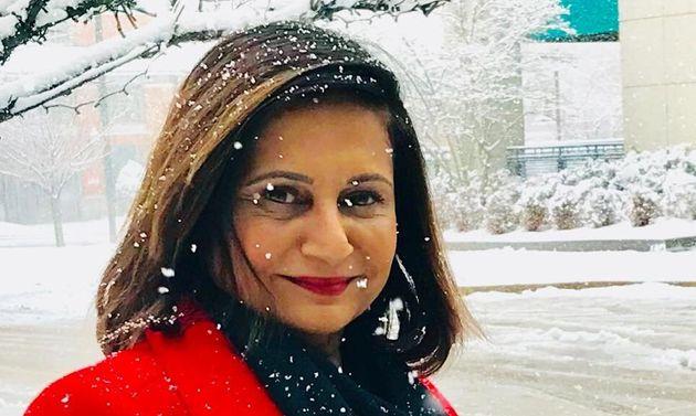Indian-origin virologist Gita Ramjee in a photo from her Facebook
