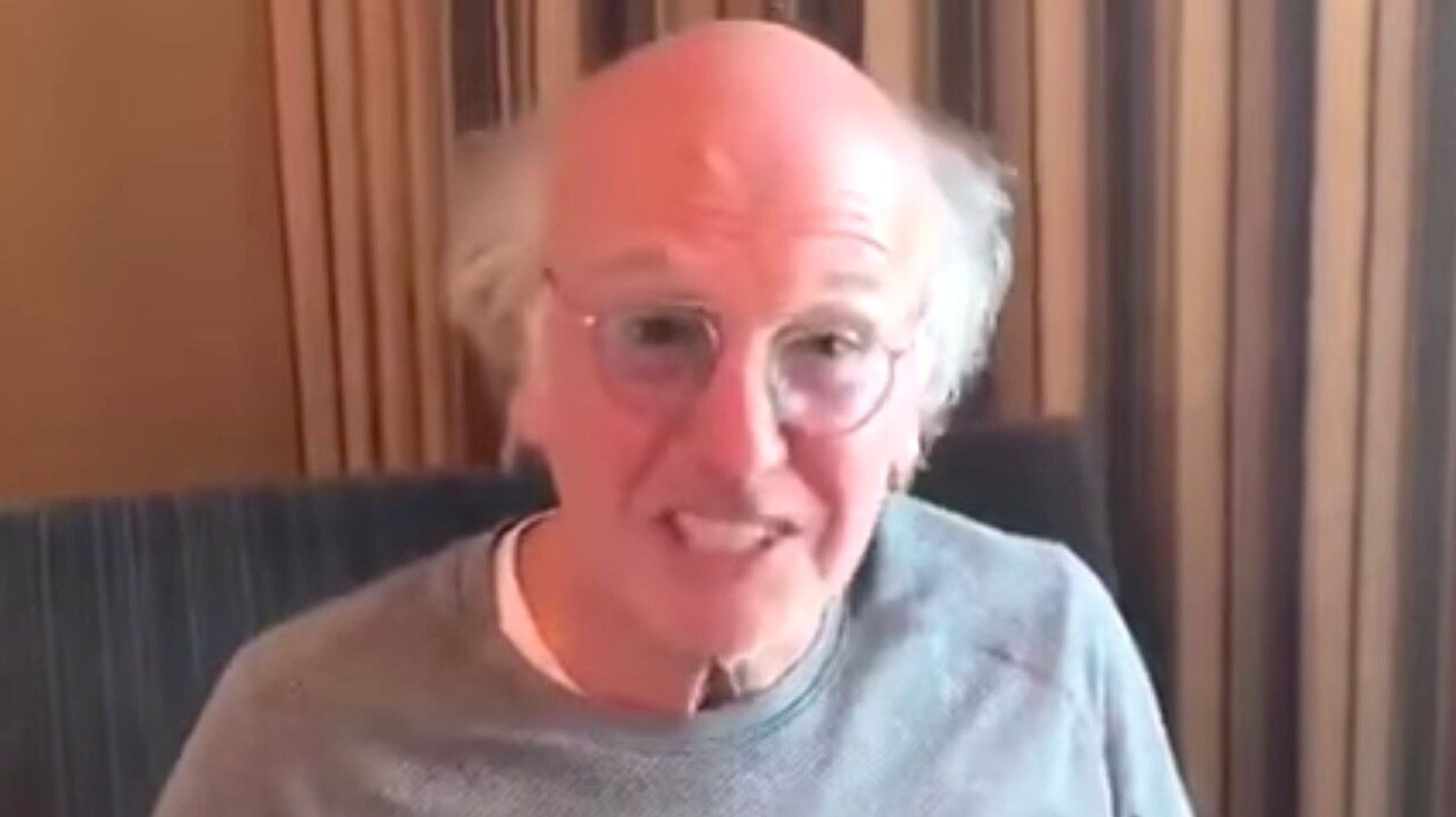 Larry David Is Ticked Off At Coronavirus Idiots. 'You Know Who You Are.'