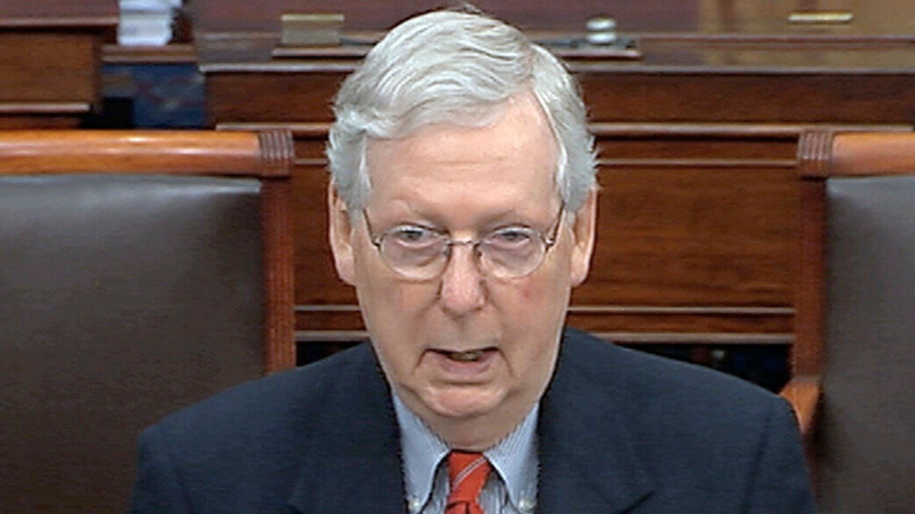 McConnell's Excuse For Trump's Botched Coronavirus Response Isn't Fooling Tweeters