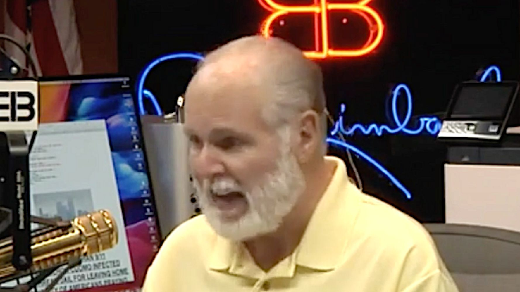 Rush Limbaugh: Economy Being Destroyed 'Under The Guise' Of Saving Lives
