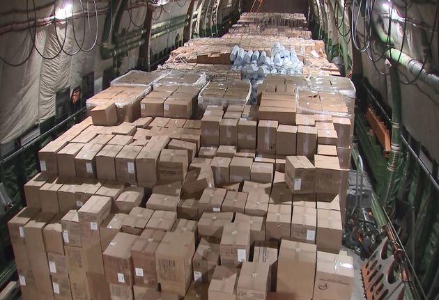 La Russie a envoyé un avion chargé d'aide humanitaire en direction des